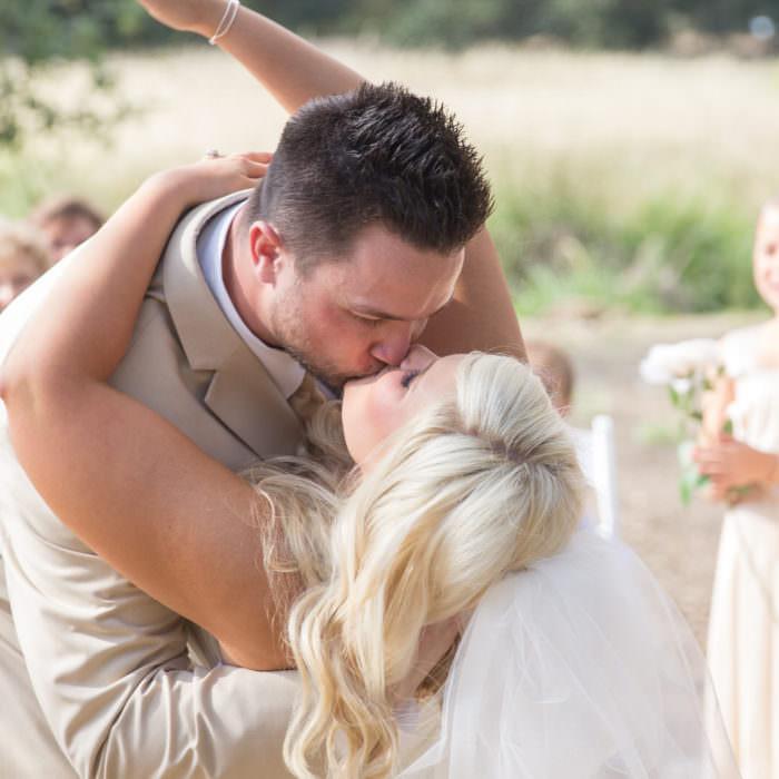 Daniele and Mike Wedding